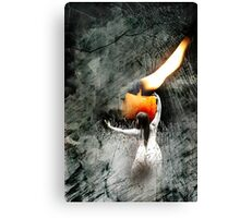 Your Candle Burned Out Long Before Your Legend Ever Did Canvas Print