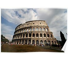 Colosseum in Colour Poster