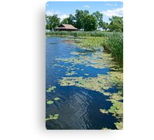 Canoe Rental at Clifton French Regional Park Canvas Print