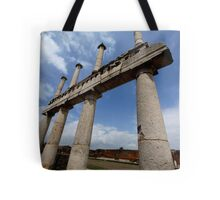 Pillars in Pompeii Tote Bag