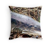Not Properly Disposed Throw Pillow