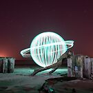 green orb - rocking a ring by Julian Marshall