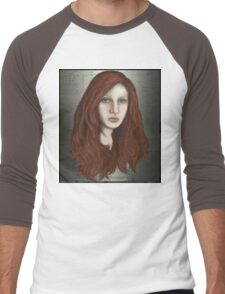 Mermaid portrait Men's Baseball ¾ T-Shirt