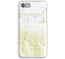 USGS Topo Map Oregon Sprague River East 281583 1988 24000 iPhone Case/Skin