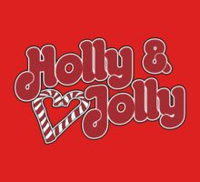 Holly and Jolly Christmas  One Piece - Short Sleeve