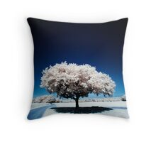 Tree (IR) II Throw Pillow