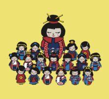 Kokeshi Dolls Baby Tee