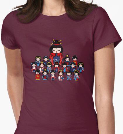Kokeshi Dolls Womens Fitted T-Shirt