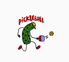 Funny Pickle Playing Pickleball Unisex T-Shirt