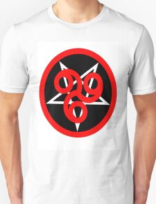 666 Pentagram White Shirt T-Shirt
