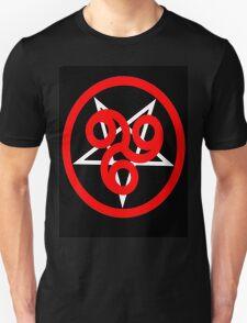 666 Pentagram Black T-Shirt