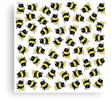 Bees! Canvas Print