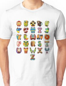 Super Alphabet Unisex T-Shirt