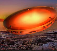 UFO number 2 by john forrant
