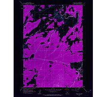 USGS Topo Map Oregon Cline Falls 279377 1962 24000 Inverted Photographic Print