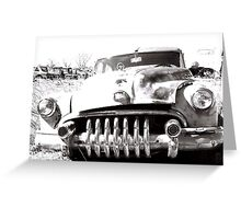 busted & rusted  Greeting Card