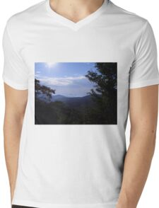 Magestic Mountains Mens V-Neck T-Shirt