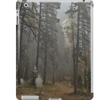 Mother is Watching Ghostly Photo iPad Case/Skin