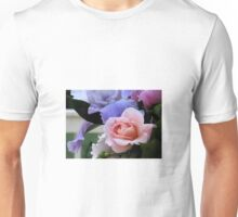 Fabulous Pink Rose Floral Art  Unisex T-Shirt