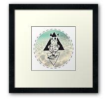 Pikafish Framed Print