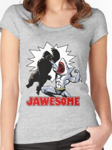 Jawesome! Women's Fitted Scoop T-Shirt