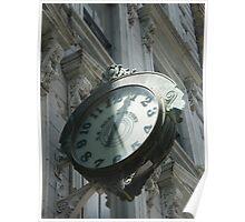 Classic Clock, Tribeca, New York  Poster