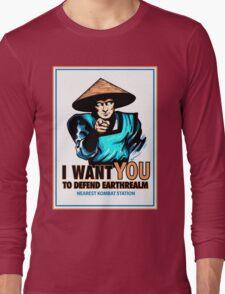 I Want YOU For Kombat Long Sleeve T-Shirt
