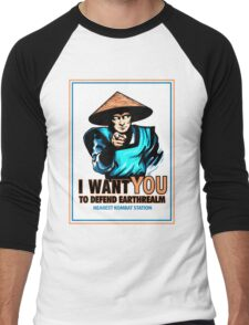 I Want YOU For Kombat Men's Baseball ¾ T-Shirt