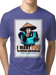 I Want YOU For Kombat Tri-blend T-Shirt