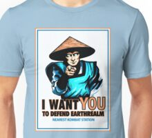 I Want YOU For Kombat Unisex T-Shirt