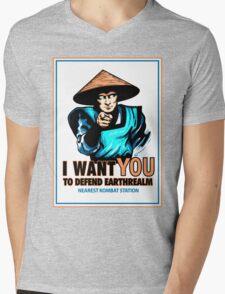 I Want YOU For Kombat Mens V-Neck T-Shirt