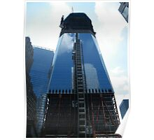 New World Trade Center Takes Form Poster