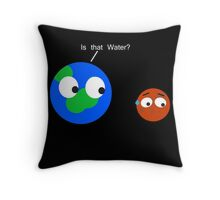 Space Worries Throw Pillow