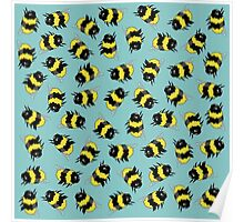 Bees! Poster