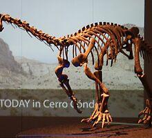 Ancient Riojasaurus by skeletonsrus