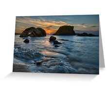 The Long Summer Sun Greeting Card