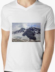 View of the Marmolada Glacier Mens V-Neck T-Shirt