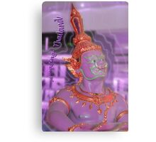 Amazingly purple Thailand Metal Print