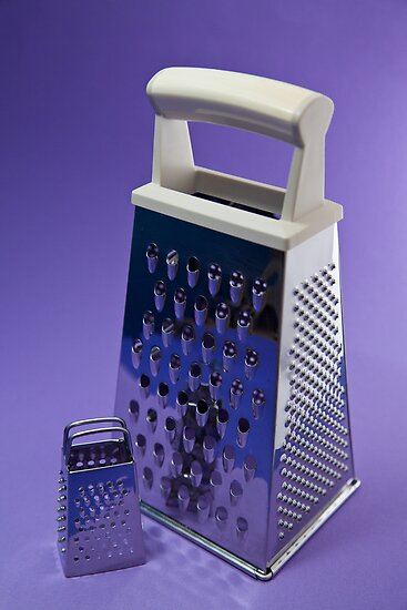 Kitchen Rhapsody: The Grater and the Lesser by Lenka