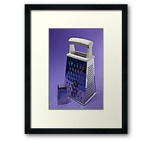 Kitchen Rhapsody: The Grater and the Lesser Framed Print