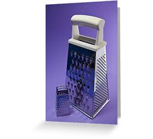 Kitchen Rhapsody: The Grater and the Lesser Greeting Card
