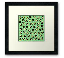Bees! Framed Print
