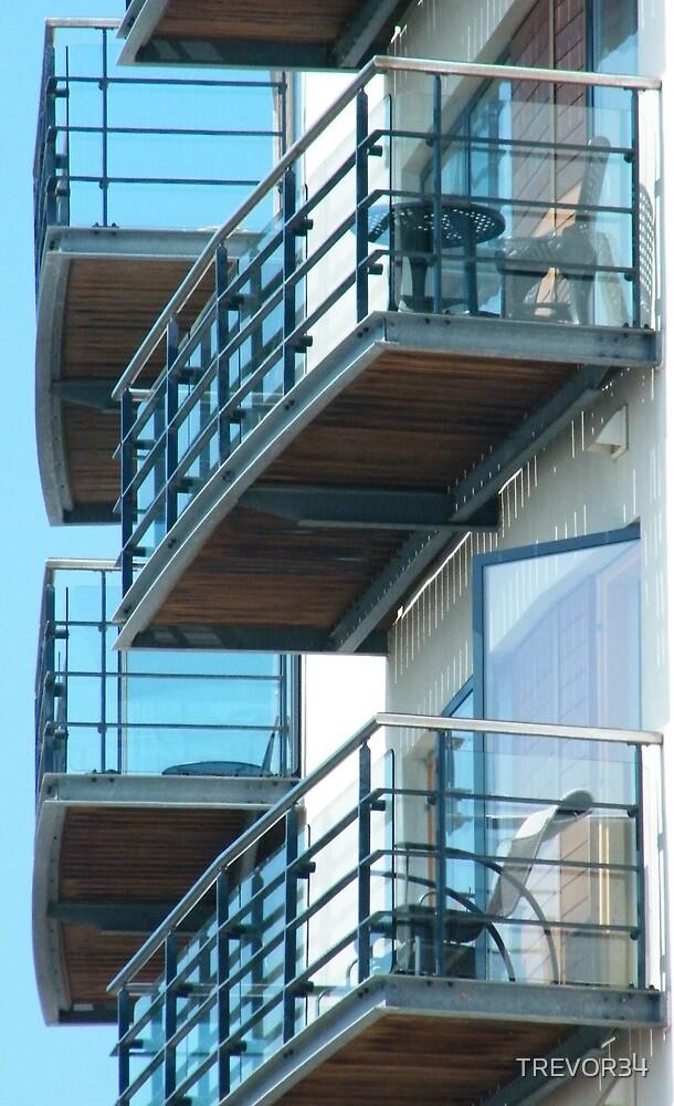 Balconies by TREVOR34