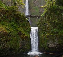 Multnomah Falls by algill