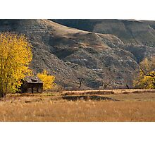 Bandlands in the Fall Photographic Print