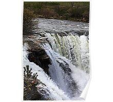 Lundbreck Falls Poster
