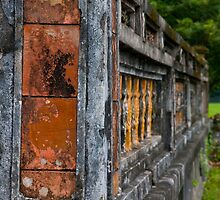 Monastery Wall by phil decocco