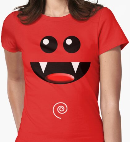 SMILE 2 Womens Fitted T-Shirt