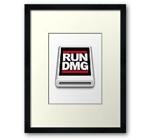RUN DMG Framed Print