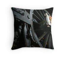 Railway Wheels Throw Pillow